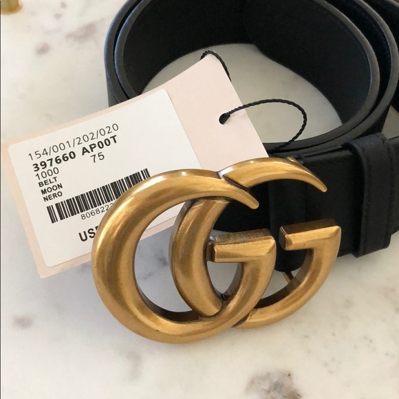 365748310a2d Gucci Accessories | Black Leather Belt With Double G Buckle | Poshmark